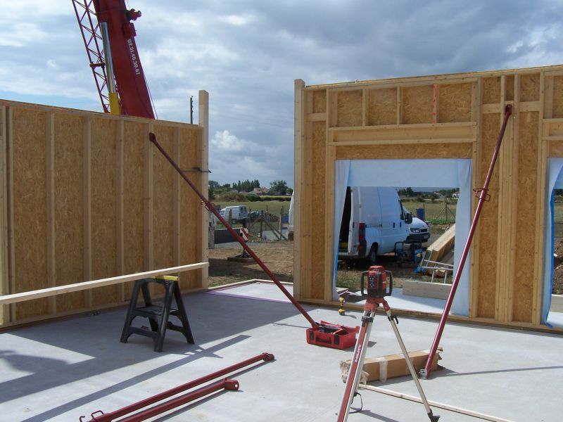 Maisons ossature bois - Temps de sechage bois de chauffage ...